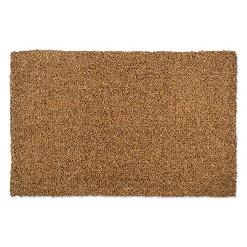 - Natural Coir Coco Fiber Non-Slip Outdoor/Indoor Doormat, 30x48