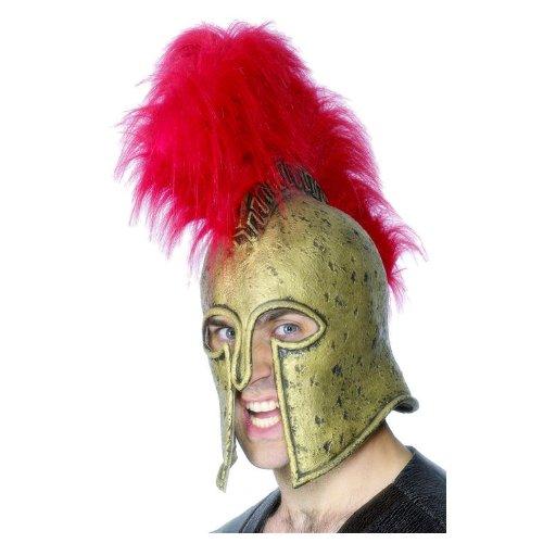 Greek And Roman Costumes Uk (Greek Warrior Helmet Costume Accessory)