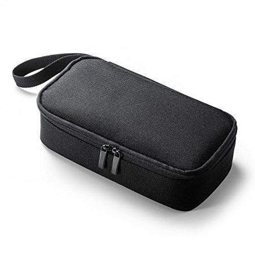 [해외]이 공급 여행 파우치 충전기 파우치 AC 어댑터 카메라 주변 수납 수납 파우치 용 투어 용 블랙 EZ2-BAGIN006BK / E-supply Travel Pouch Charger Pouch AC Adapter Camera peripheral storage pouch for travel black EZ2-BAGIN006BK