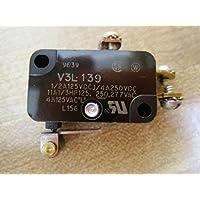 HONEYWELL S&C V3L-139 MICRO SW, ROLLER PLUNGER, SPDT, 11A 277V