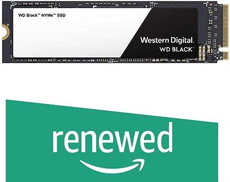 Western Digital WD Black NVMe - Disco duro sólido SSD 250GB, M.2, PCI Express 3.0, 3400 MB/s (Reacondicionado): Amazon.es: Electrónica
