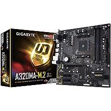 GIGABYTE GA-A320MA-M.2 (AMD Ryzen AM4/A320/HDMI/USB 3.1 Type-A/M.2/Micro ATX/4xDDR4 Motherboard)