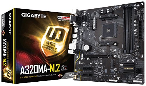 Gigabyte Technology GA-A320MA-M.2 (AMD Ryzen AM4/A320/HDM...