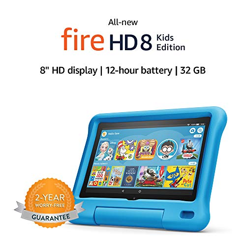 🥇 All-new Fire HD 8 Kids Edition tablet