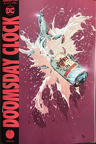 -  Doomsday Clock #3 (of 12) Cover A Release date 1/24/18