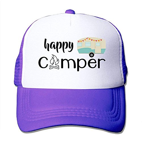 Male Happy Yuerb Trucker Camper Gorras Baseball Mesh Cute béisbol Hat qZw7SwX