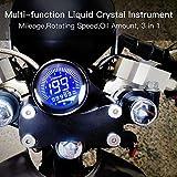 WonVon 12V Universal Digital Motorbike
