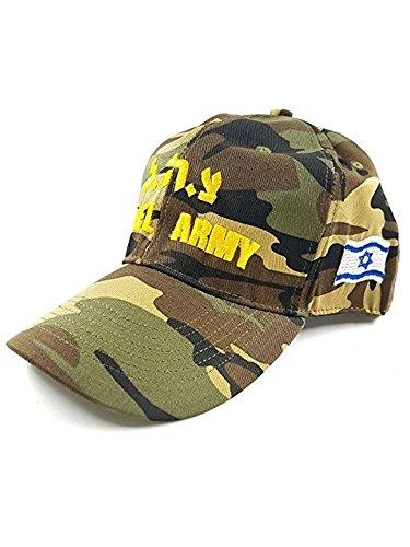wise-transaction Israeli Army IDF Cap Hat - with IDF Logo and Israel Flag (Israeli Army Cap)