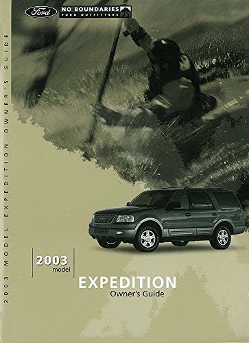 Fuses Expedition Ford - bishko automotive literature 2003 Ford Expedition Owners Manual User Guide Reference Operator Book Fuses