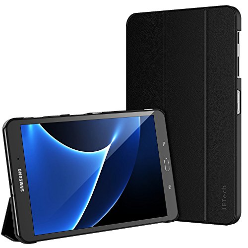 Galaxy-Tab-A-101-Case-JETech-Slim-Fit-Case-Cover-for-Samsung-Galaxy-Tab-A-101-SM-T580-T585-2016-Release-with-Auto-Sleep-Wake-Black