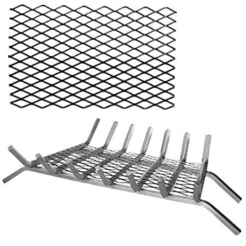 Amazon.com: 16'' Ember Retainer for Fireplace Grates: Home & Kitchen