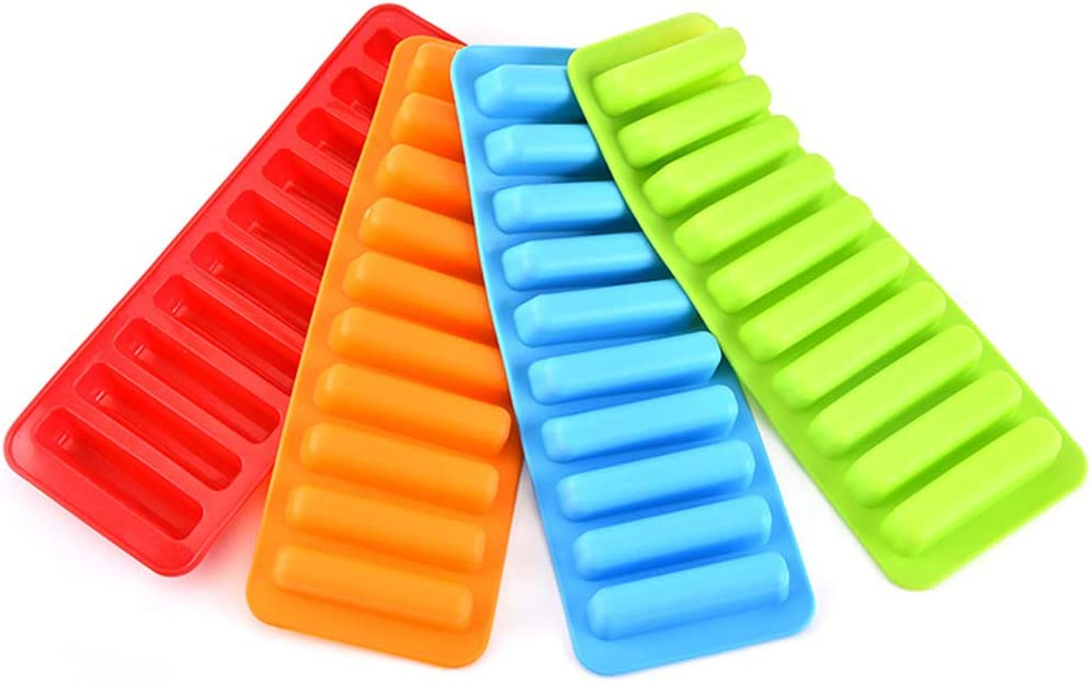Bleu UPKOCH Silicone Ice Cube Tray Moule /à gla/çons 10 b/âtons en Treillis pour Bouteille deau de Boisson Outil de Cuisson 2pcs
