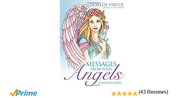 Dream Cities Coloring Book Review Messages From Your Angels Doreen Virtue Norma