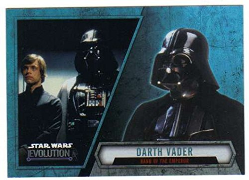 2016 Topps Star Wars Evolution Trading Card #9 Darth for sale  Delivered anywhere in USA