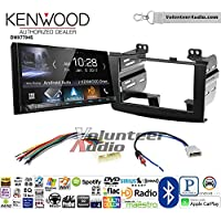 Volunteer Audio Kenwood DMX7704S Double Din Radio Install Kit with Apple CarPlay Android Auto Bluetooth Fits 2008-2010 Nissan Rogue