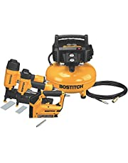 BOSTITCH BTFP3KIT-CA 3-Tool and Compressor Combo Kit