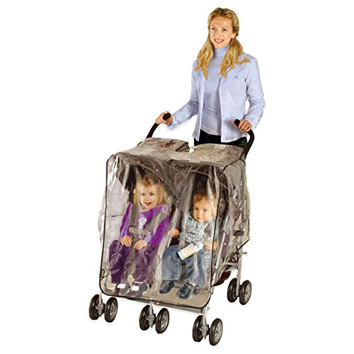 Especially for Baby Stroller Weather Shield - Side by Side by Especially for B