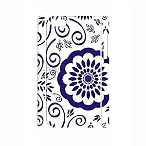 Dramatic Chinese Style White and Blue Porcelain Pattern Handmade Hard Plastic Phone Accessories Cover for Iphone 5C Case