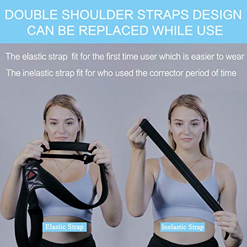 Posture Corrector for Men and Women Upper Back Brace for Clavicle Support Adjustable Shoulder