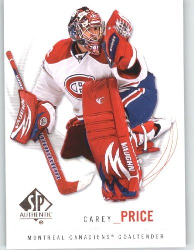 2009-10 (2010) Upper Deck SP Authentic Hockey Card # 5 Carey Price - Canadiens - NHL Trading Card