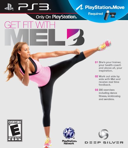 Get Fit with Mel B - Playstation 3 (360 Wolverine Xbox)