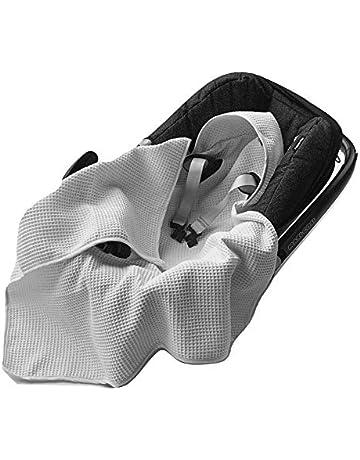 Babees© Manta de gofrera de algodón para asiento de coche, universal, por ejemplo