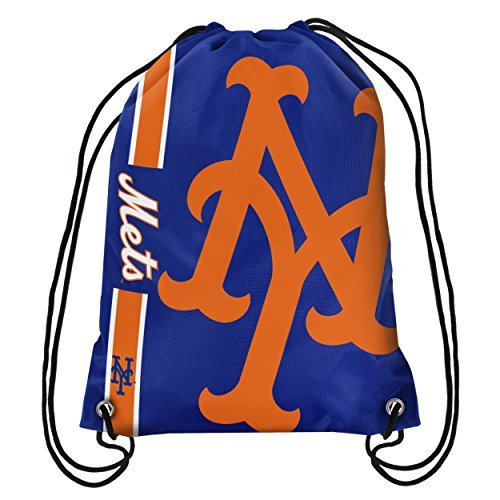 New York Mets Bean Bag - New York Mets Big Logo Drawstring Backpack