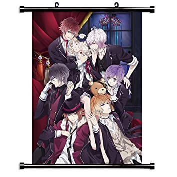 Diabolik Lovers Anime Fabric Wall Scroll Poster 16 X 22 Inches