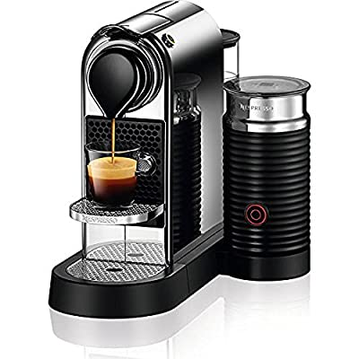 Nespresso C122-US-CH-NE Citiz & Milk Espresso Machine, Chrome from Nespresso