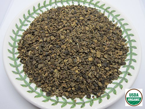 Organic Valerian Root - Valeriana officinalis Dried Loose Root Cut by Nature Tea (4 oz)