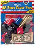 Pirate's Treasure Favor Value Pack with 48 pieces