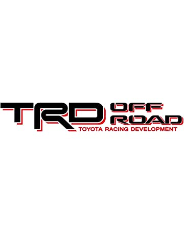 Noa Store Toyota TRD Truck Off Road 4x4 Toyota Racing Tacoma Decal Vinyl Sticker (Black