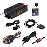 Vehicle Car GPS Tracker 103B with Remote Control GSM Alarm SD Card Slot