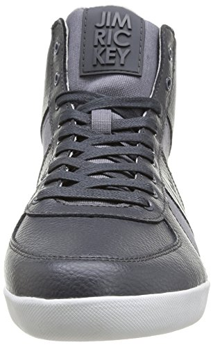 Jim Rickey Zenith Tumbled Leather Fine Tweed, Sneaker Uomo Grigio (Grigio)
