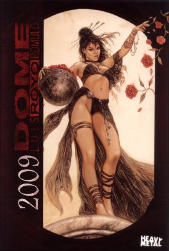 2009 Calendar Fantasy Art - Luis Royo The Dome 2009 Calendar