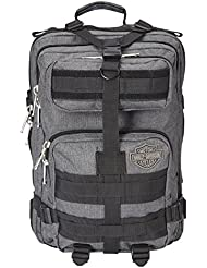Harley Davidson Molle Backpack/Tandem, Grey