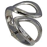Les Poulettes Jewels - Sterling Silver Bracelet Two Leaf