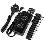 Sunydeal 90W Universal AC to DC 15V 24V Adapter Laptop Power Charger Supply Replacement for HP DELL ASUS SAMSUNG Most Compatible Laptop Model