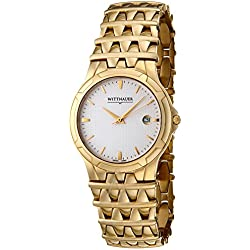 Men's savoy goldtone watch Stainless Steel