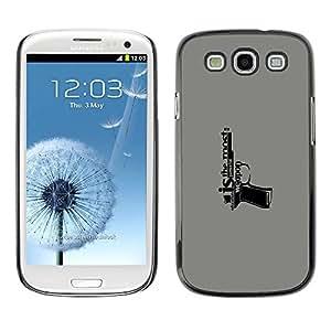 PC/Aluminum Funda Carcasa protectora para Samsung Galaxy S3 I9300 Education Is A Weapon Message / JUSTGO PHONE PROTECTOR