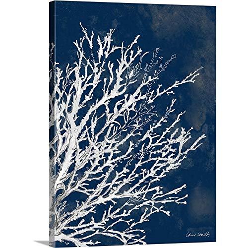 coral navy blue decor - 8