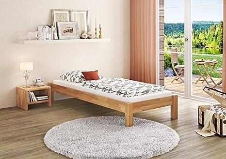 Letto Futon Una Piazza E Mezza : Solido letto futon di faggio eco laccato con doghe di
