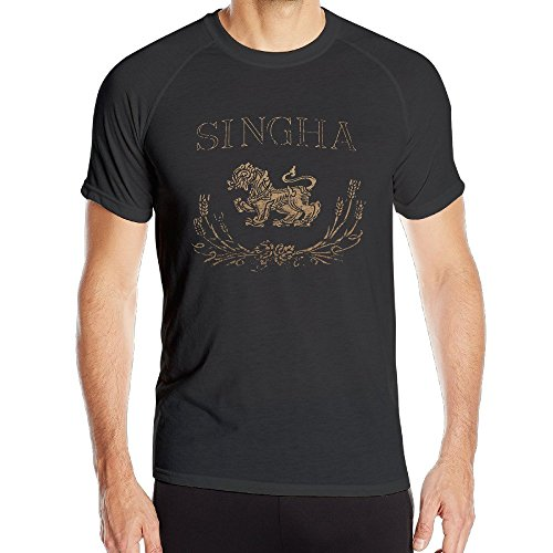 singha-beer-logo-mens-ultimate-athletic-short-sleeve-shirt