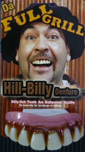 Fancy Dress Full Grill Billy-Bob Teeth