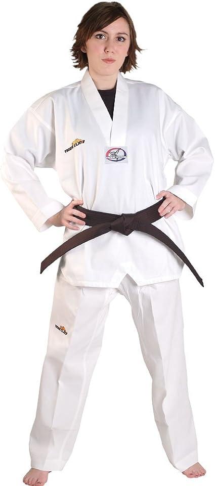 TKD Uniform Tiger Claw 6 OZ Essential Tae Kwon Do