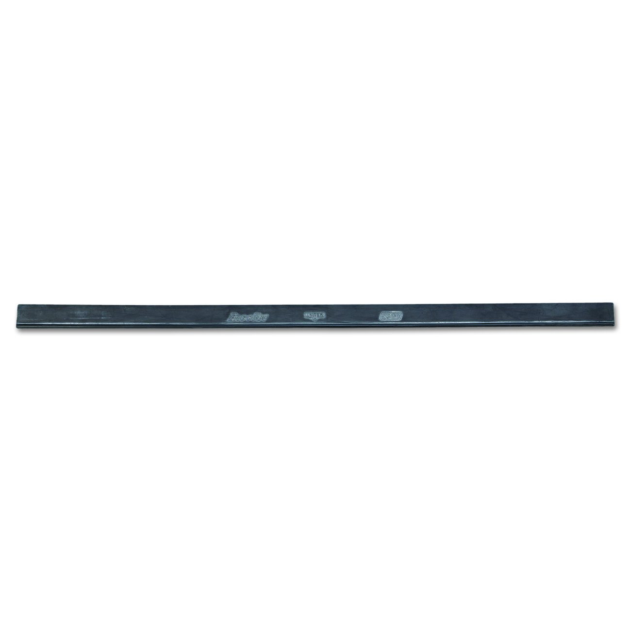 Unger RT450 ErgoTec Soft Rubber Squeegee Blade, 18'' Length (Case of 12)