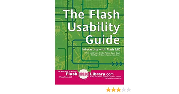 The Flash Usability Guide: Interacting with Flash MX
