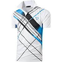 Sportides Boy's Quick Dry Sport Short Sleeve Breathable Polo T-Shirt Tee Top LBS710