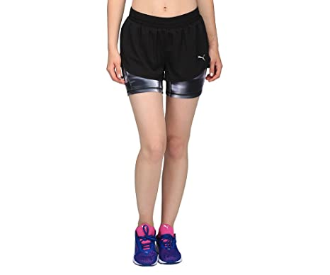c466e780951 Puma Women's Blast 2-in-1 3-inch Shorts