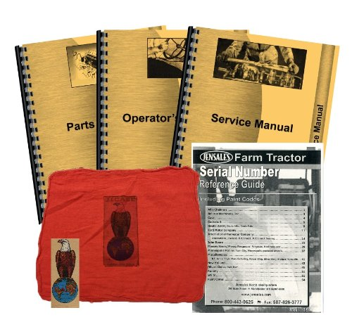 Case 500 Diesel Deluxe Tractor Manual Kit
